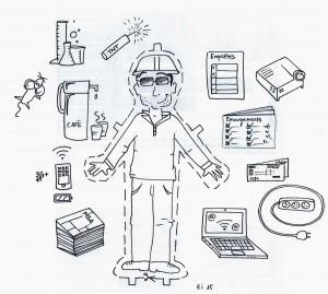 Kit de survie d'un ingénieur de formation à la MSA. E.Iuliani