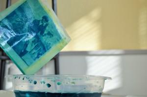 Un cyanotype